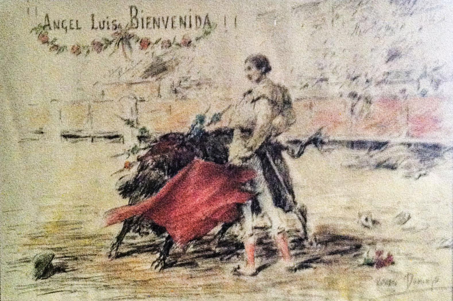 Resultado de imagen de Ángel Luis Bienvenida