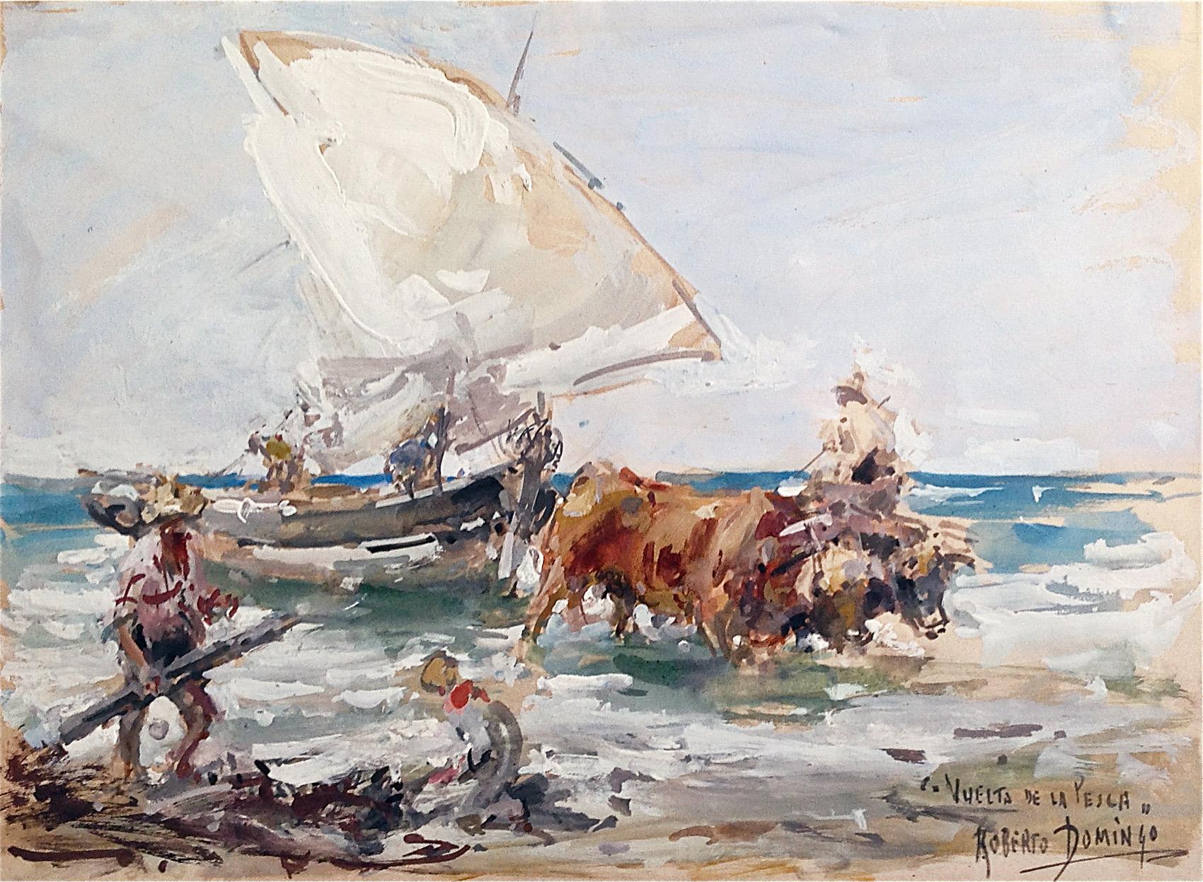 Vuelta de la pesca
