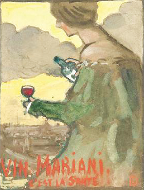 Publicity poster for VIN MARIANI